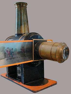 Bild: Lanterna magica im Schlossmuseum Aulendorf (AndreasPraefcke)