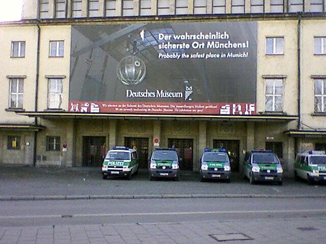 Der sicherte Ort Münchens